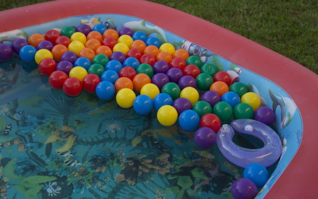 Les piscines à balle de la marque Misioo